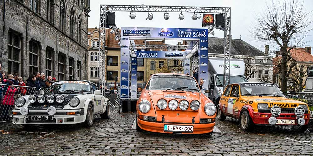 Yves Deflandre opent het palmares Ypres Rally® regularity 2018: